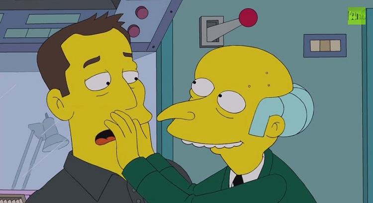 Elon Musk rencontre Homer Simpson!