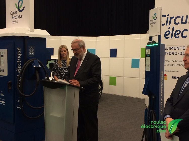 Pierre Arcand, le ministre de l'Énergie et des Ressources naturelles