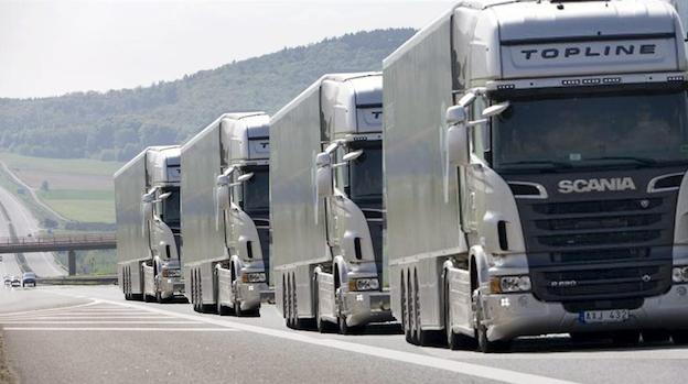 La véritable révolution des transports : les camions de marchandises autonomes