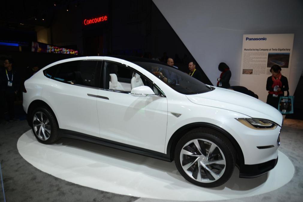 Les réservations de Tesla Modèle X au 31 décembre 2014
