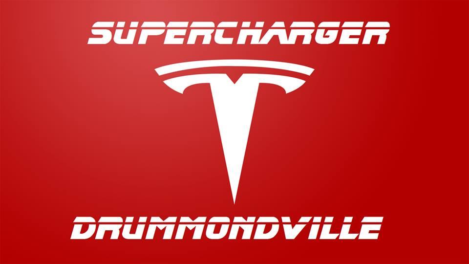 TRAVAUX DU SUPERCHARGER TESLA à Drummondville : Mise à jour hivernale!
