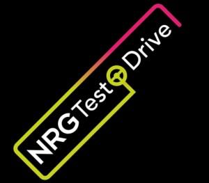NRG TEST DRIVE LOGO 45 deg noir
