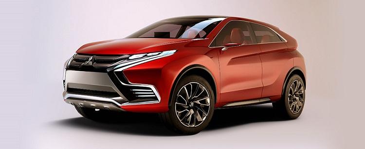 Nouveau concept d'hybride rechargeable de Mitsubishi