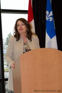 Suzanne Roy - Mairesse Sainte-Julie