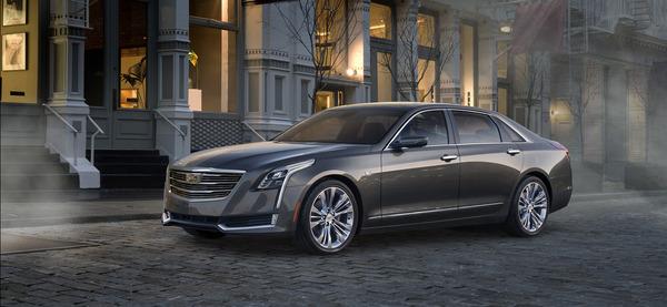 Communiqué : annonce officielle de la Cadillac CT6 électrique avec prolongateur d'autonomie!