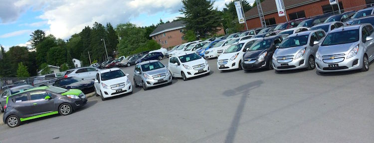 Des Spark EV en quantité chez Bourgeois Chevrolet