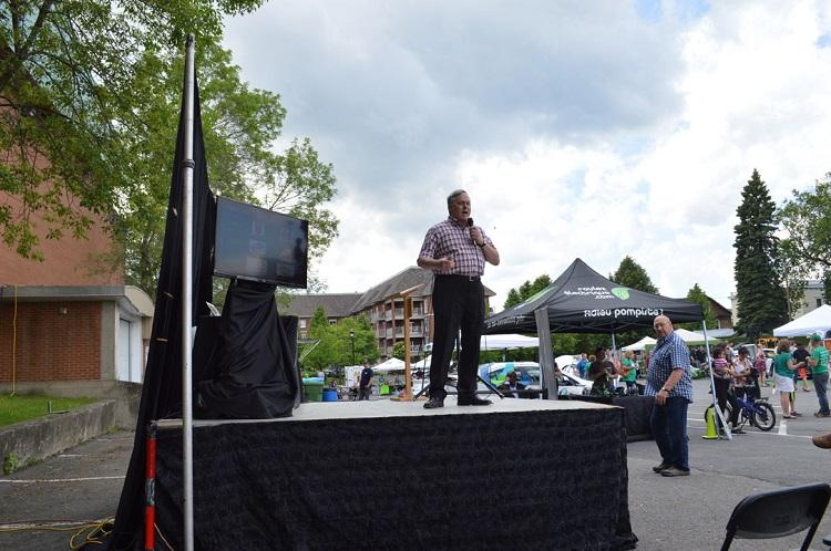RAVÉ 2015 à Drummondville - essais de voitures électriques