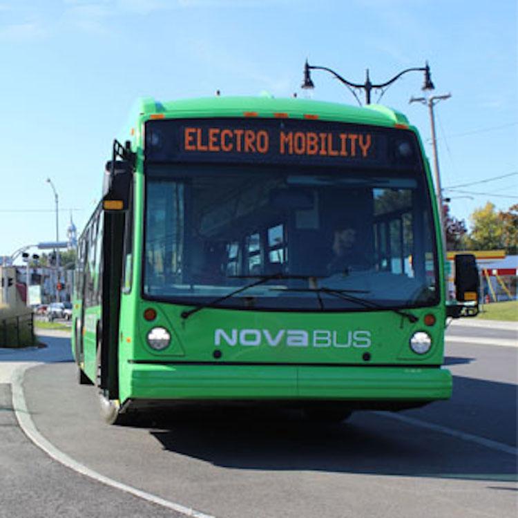 Autobus électriqueNovabus:  40 fois plus cher que l'autobus scolaire électrique???