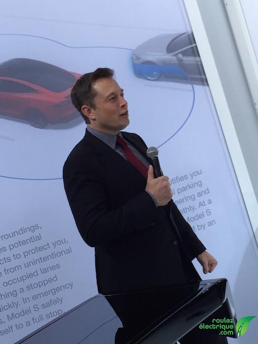 Un courriel de Elon Musk: Qui recevra une belle P90D Ludicrous en bonus?
