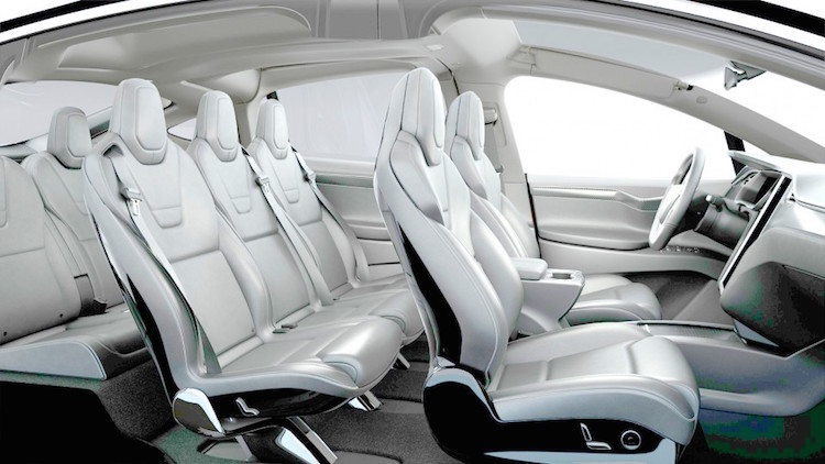 officiel d tails sur la tesla model x et photos roulez electrique. Black Bedroom Furniture Sets. Home Design Ideas