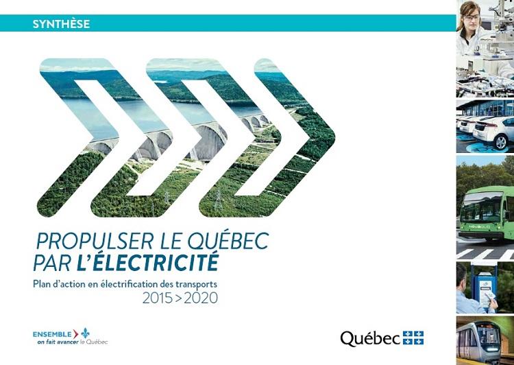 Plan d'action en électrification des transports : synthèse