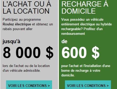 Changement dans le programme de remboursement pour les bornes de recharge à la maison!