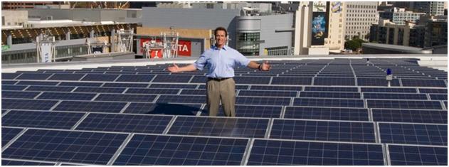 Schwarzenegger solaire