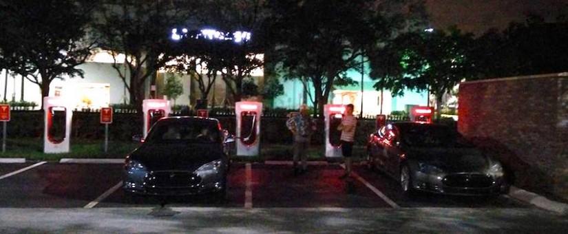 CONFIRMÉ: Le Supercharger de Plantation en Floride est opérationnel!