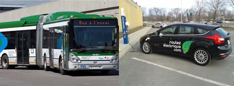 Voitures électriques VS transport collectif : le FAUX débat