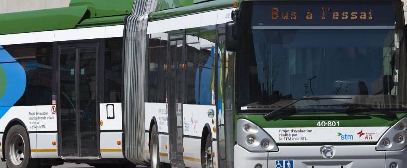 Autobus électriques vs autobus hybrides: l'électricité plus chère que le diesel à moins de 53000km/année !!