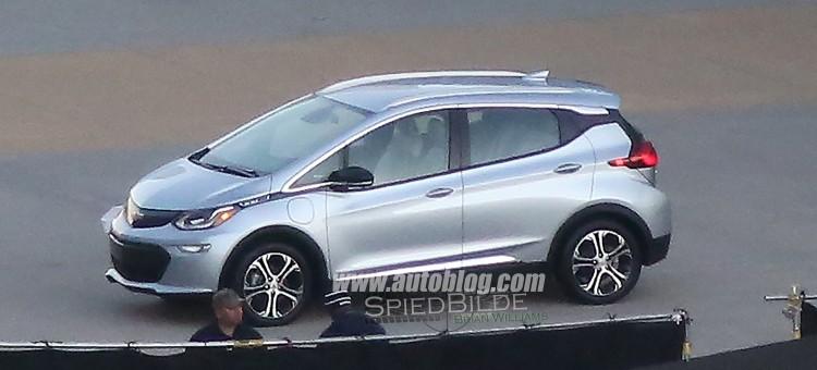 Coucou Chevrolet BOLT ! Les premières images de la version production…