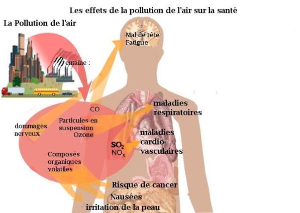 effets-pollution-santé