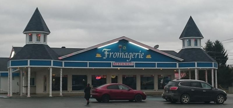Le restaurant de la Fromagerie – extérieur.