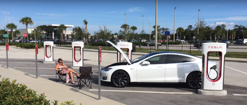 VIDÉO : Floride/Californie aller-retour en Tesla !