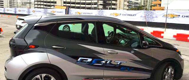 Chevrolet Bolt 2017 : fuites d'information avant le dévoilement de ce soir