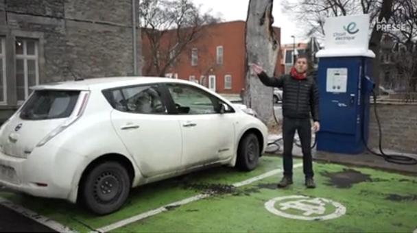Un journaliste et un collaborateur de La Presse font une réelle expérience électrique Montréal-Gaspé