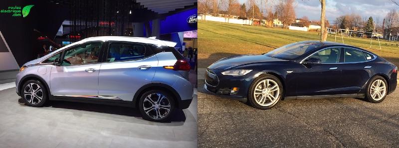 BOLT 2017 : plus d'autonomie que la Tesla S60 pour la moitié du prix?