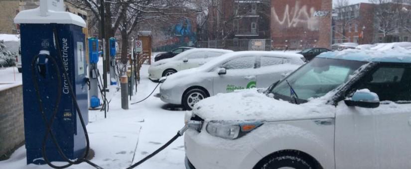 Vivement plus de bornes rapides à Montréal