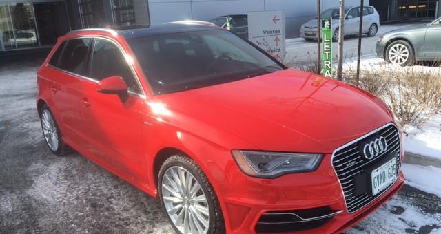 Audi A3 e-tron : Est-elle assez électrisante? Ça dépend pour qui.