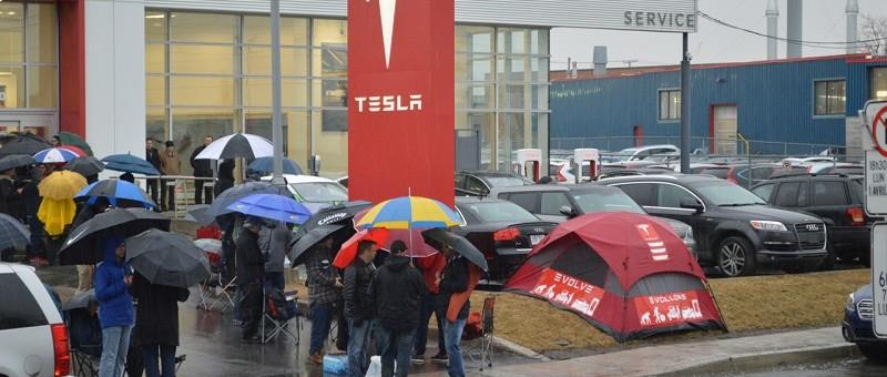 Journée historique : dévoilement et ouverture des réservations de la Tesla Model 3
