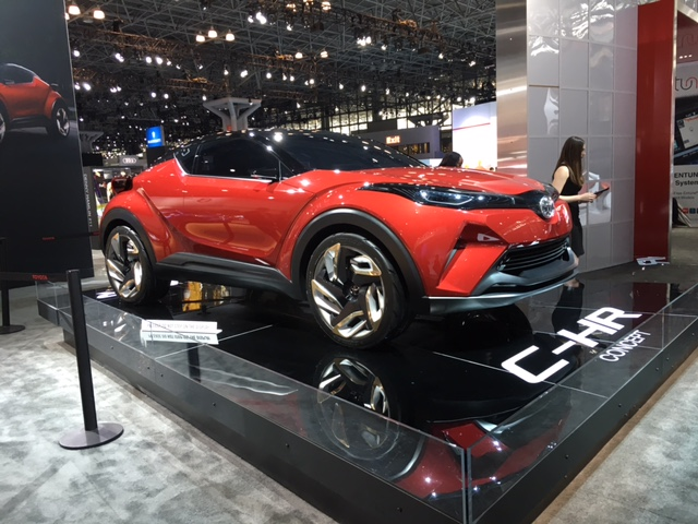 Concept C-HR de Toyota.