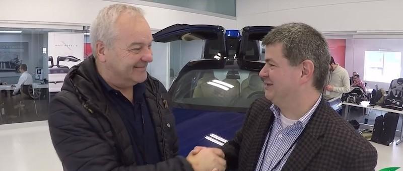 EXCLUSIF: Entrevue vidéo avec Pierre Michaud au sujet de son Tesla MODEL X!