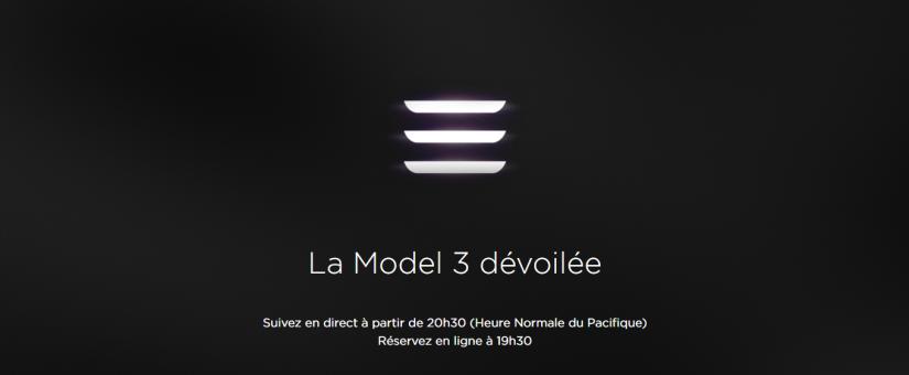 Soirée Model 3 à la Station Roulez Électrique – diffusion en ligne