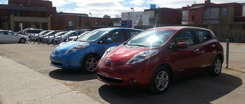 C'est le printemps : venez essayer les Leaf de JN Auto chez Roulez Électrique!