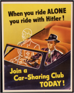 dontdrivealone_carsharing poster