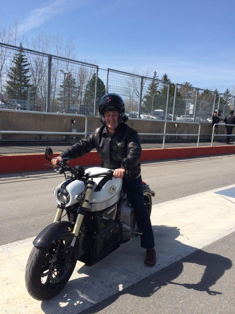Lito Sora au circuit Gilles-Villeneuve lors du branchez-vous 2016