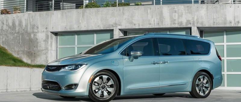 Le Chrysler Pacifica rechargeable: Comme des chevreuils …