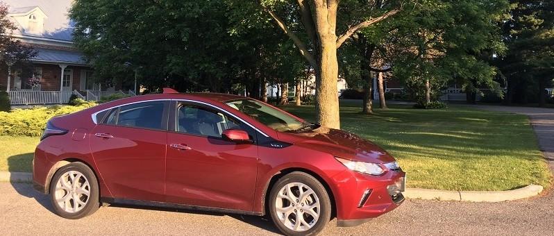 Chevrolet Volt 2017 : pari gagné