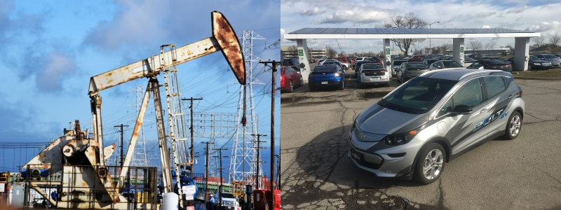 Voitures électriques, yoyo pétrolier et constructeurs autos