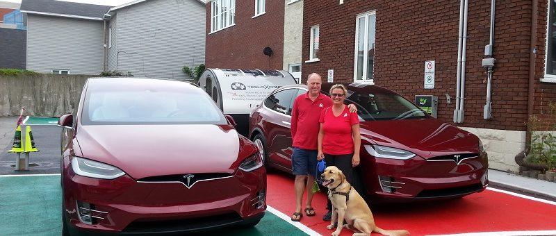 Tesla X Canada est à Trois-Rivières!! Venez les rencontrer!