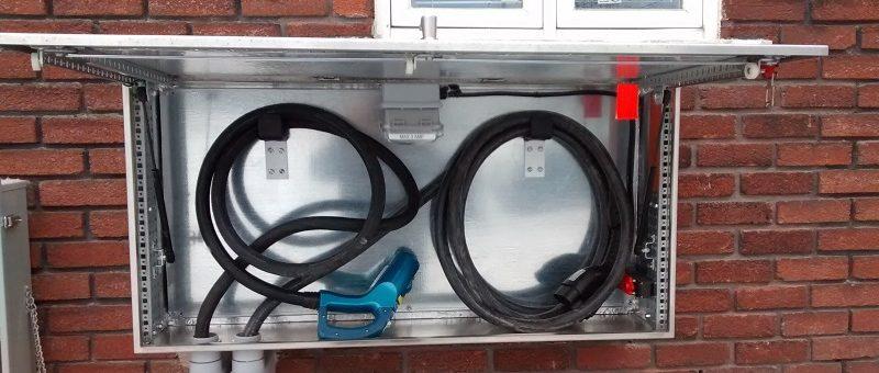 Application EVduty en test : plusieurs bornes 400 V de Elmec disponibles!
