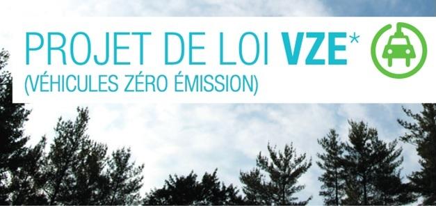 Loi VZE au Québec : Attention, les fabricants pourraient n'avoir aucun effort à fournir en 2018 et très peu en 2019!
