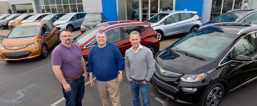 Livraison des premières Chevrolet BOLT à Fremont en Californie!