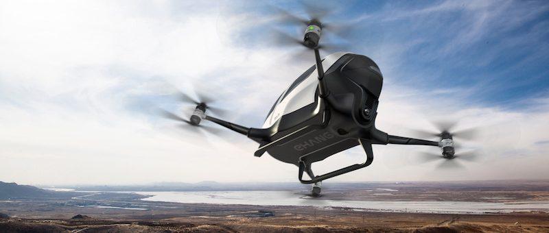 Les navettes volantes électriques,  une convergence de technologies