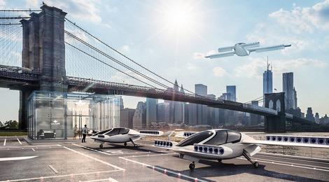 Le Lilium Jet, un taxi aérien électrique à décollage vertical avec beaucoup de potentiel