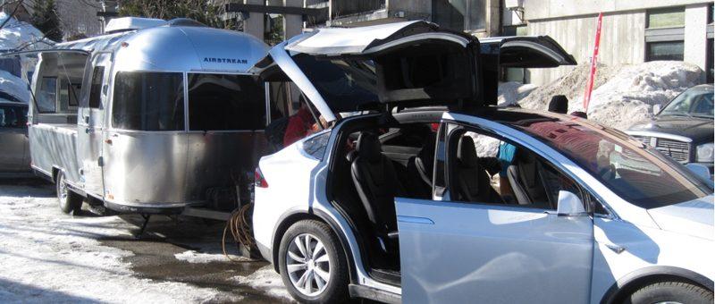 Caravane Tesla