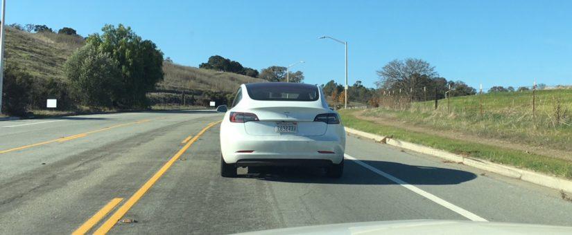 À la recherche de la Model 3…