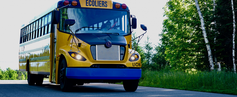 100% d'autobus scolaires électriques au Québec d'ici 2030 !