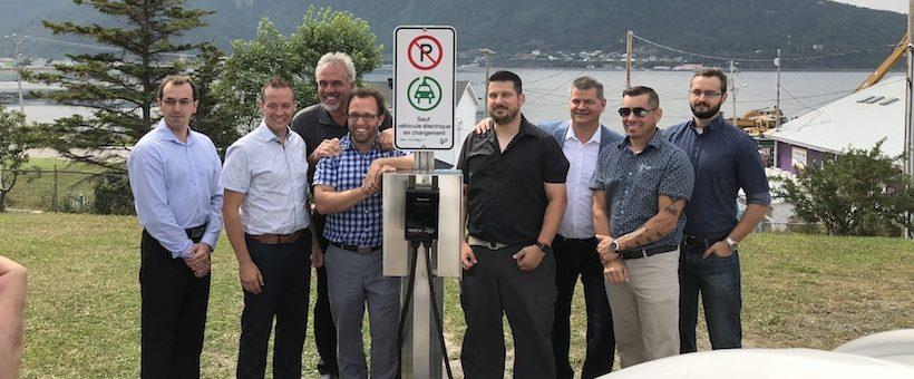 100 borne pour la Gaspésie – Lancement officiel