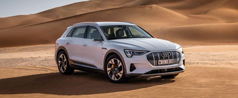 Voici la Audi e-tron 100% électrique